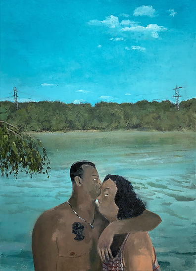 Tim Sandow, Love Me (Tag am See), 2020,