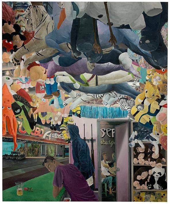 Tim Sandow, Prater Export, 2020, Acrylic