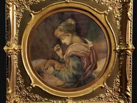 "Dante Gabriel Rossetti ""The Dressmaker"" 1828 - 1882"