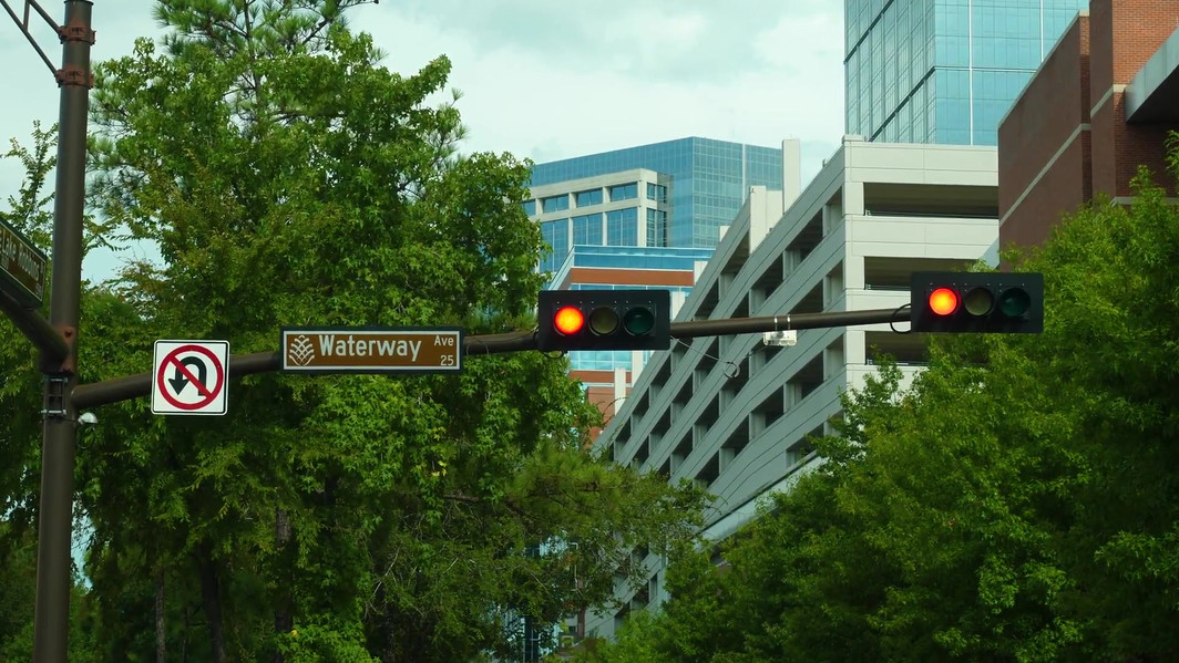 Waterway Cross Sign in Texas.mp4