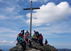 """DAV Sektion wandert über Großen Arber und Kleinen Arber zu den """"Niagarafällen des Bayerischen Walds"""
