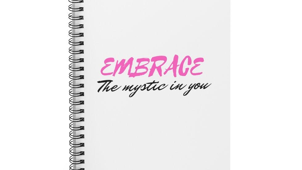 Mystic Embrace Spiral Notebook - Ruled Line