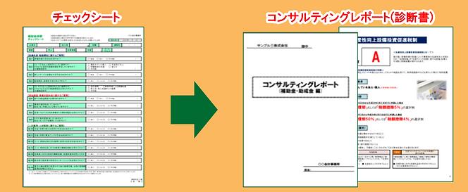 コンサルティングレポート(診断書)