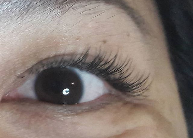 Classic Lashes Extension.  Now serving a