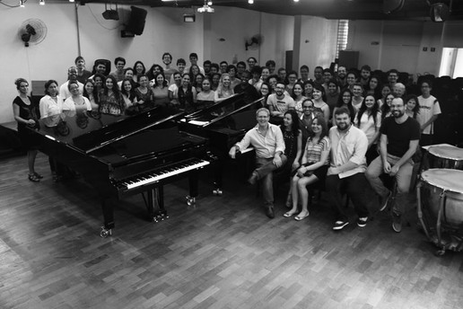 II Oficina de Piano USP, 2016