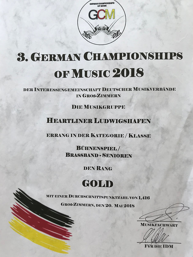 German Championships of Music 2018 | HEARTLINER | Musikverein
