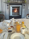About the dining room at The Roost Bed and Breakfast accommodation in Waiuku
