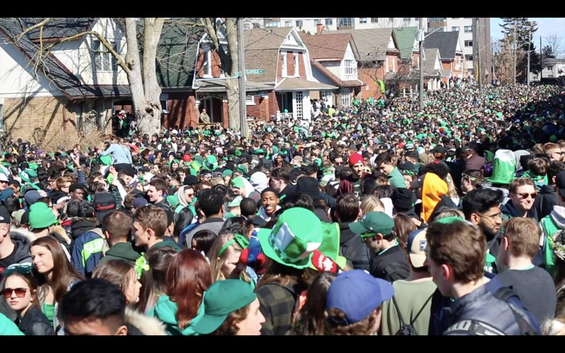 Waterloo St. Patrick's Day 2018