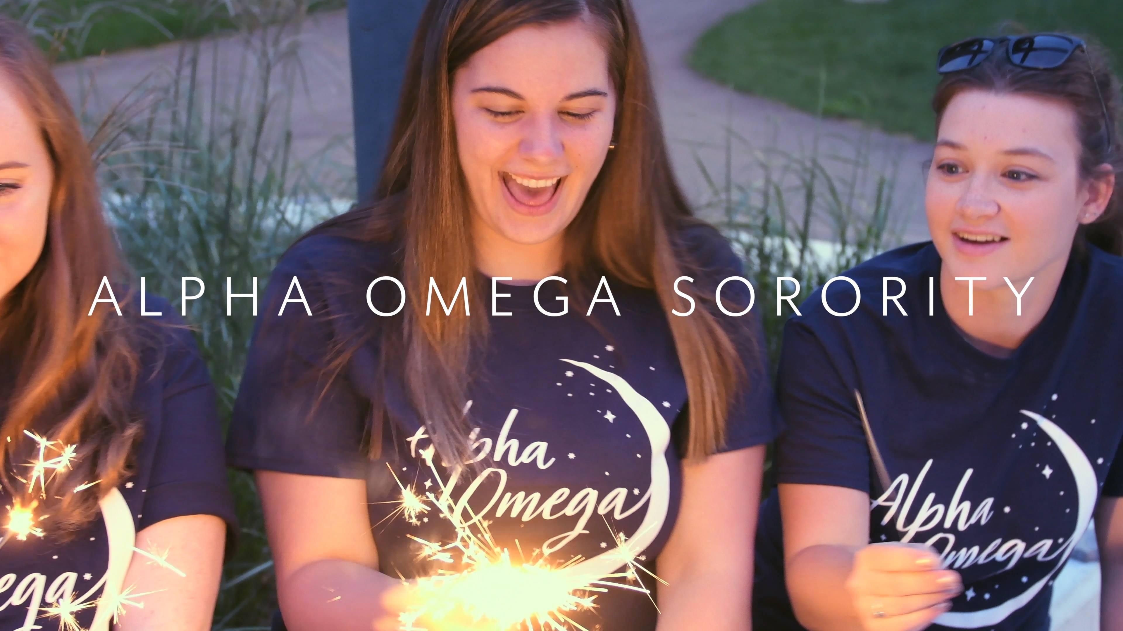 Alpha Omega Sorority Recruitment 2018/19