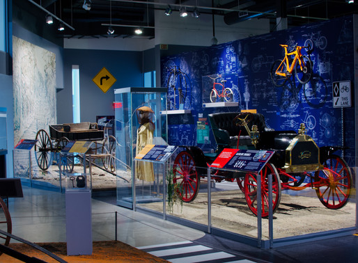Going places exhibit helps visitors travel through history