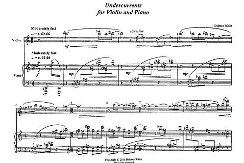 Three Pieces for Violin & Piano (score)