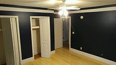 bedroom remodel with closet doors