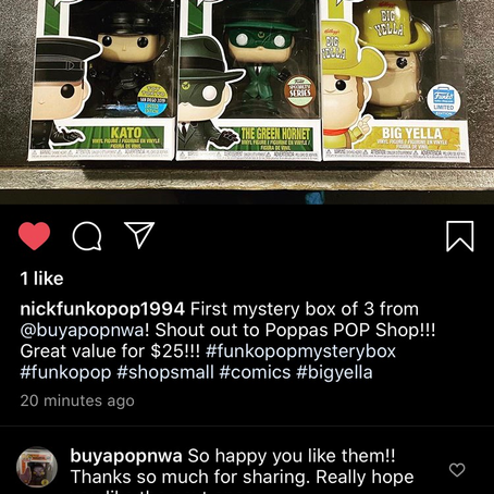 Another happy customer!  $25 box here