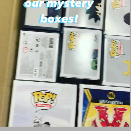 Check out our latest pickups for mystery boxes!!