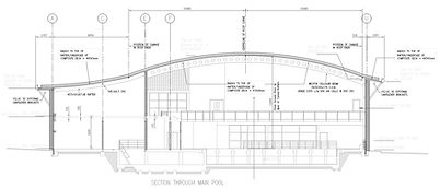Leisure centre drawing