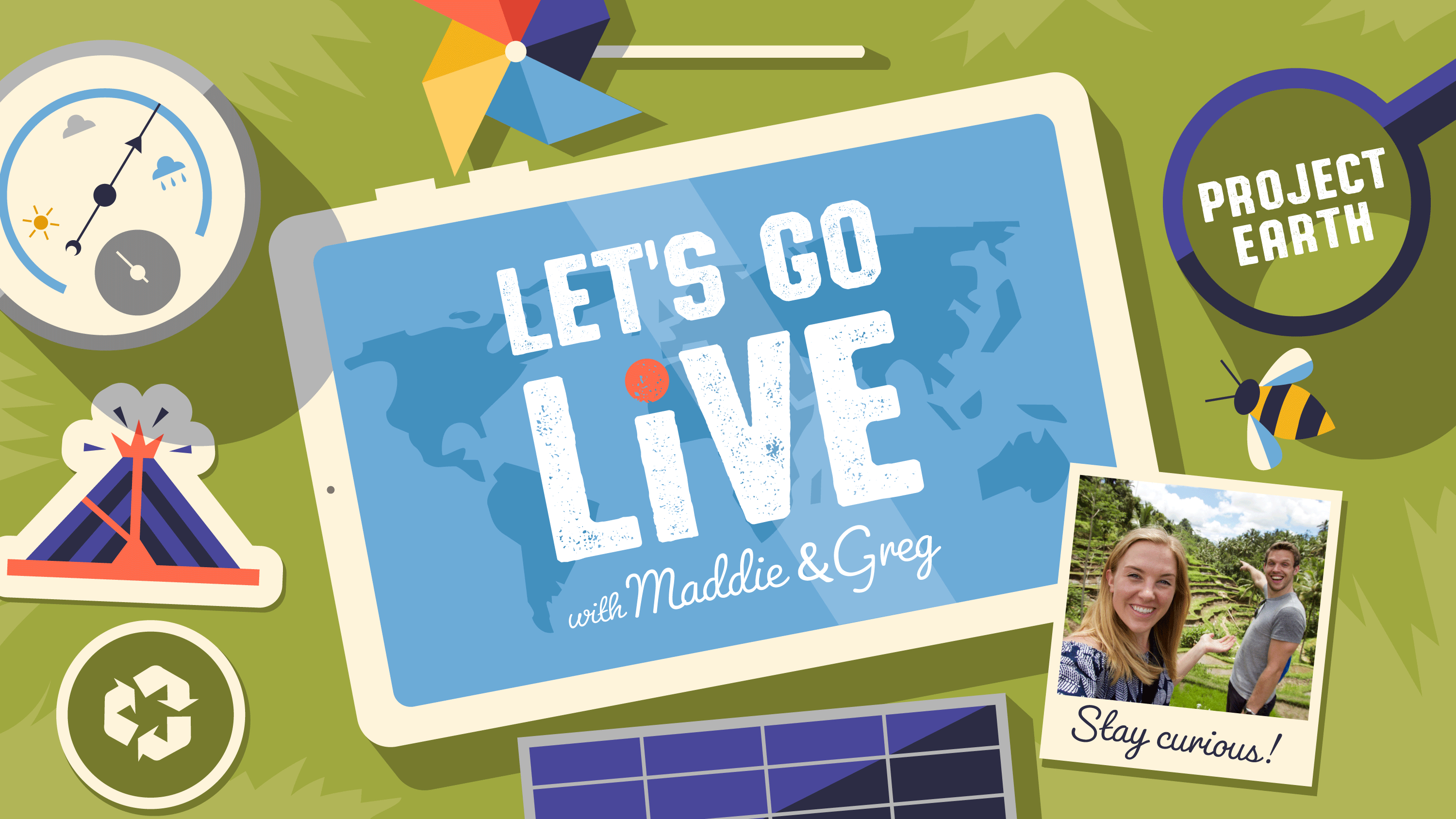 Let's Go Live with Maddie & Greg
