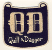 1971 Quill & Dagger Patch