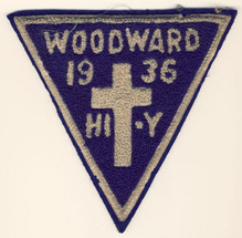1936 Hi-Y Patch
