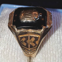 1933 Class Ring Female