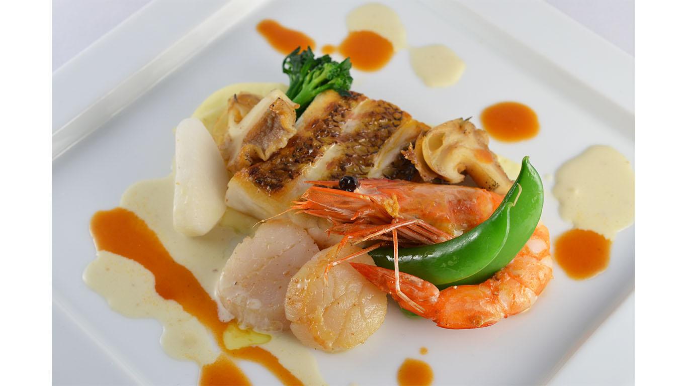 ディナー魚