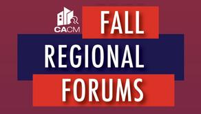 HMC's President Speaks At The Fall Regional Forums