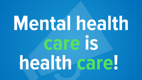 May is Mental Health Awareness Month - #WhyCare?