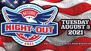 National Night Out - August 3, 2021