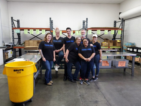 Team HMC Helps Fight Hunger in Local Community