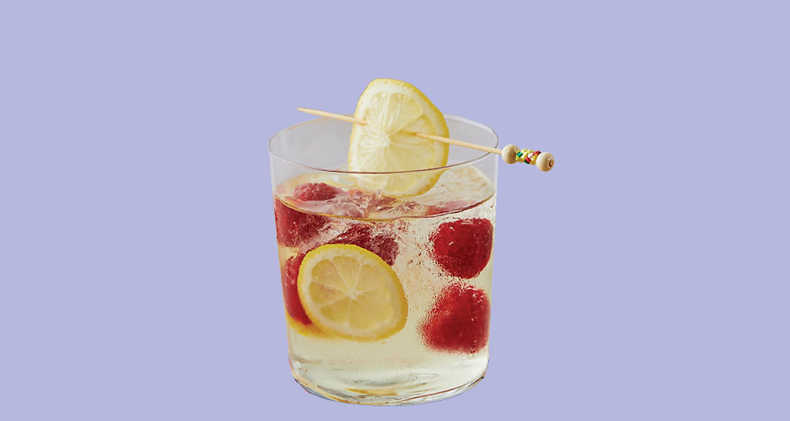 Cocktail Test B - Pinot Grigio Raspberry