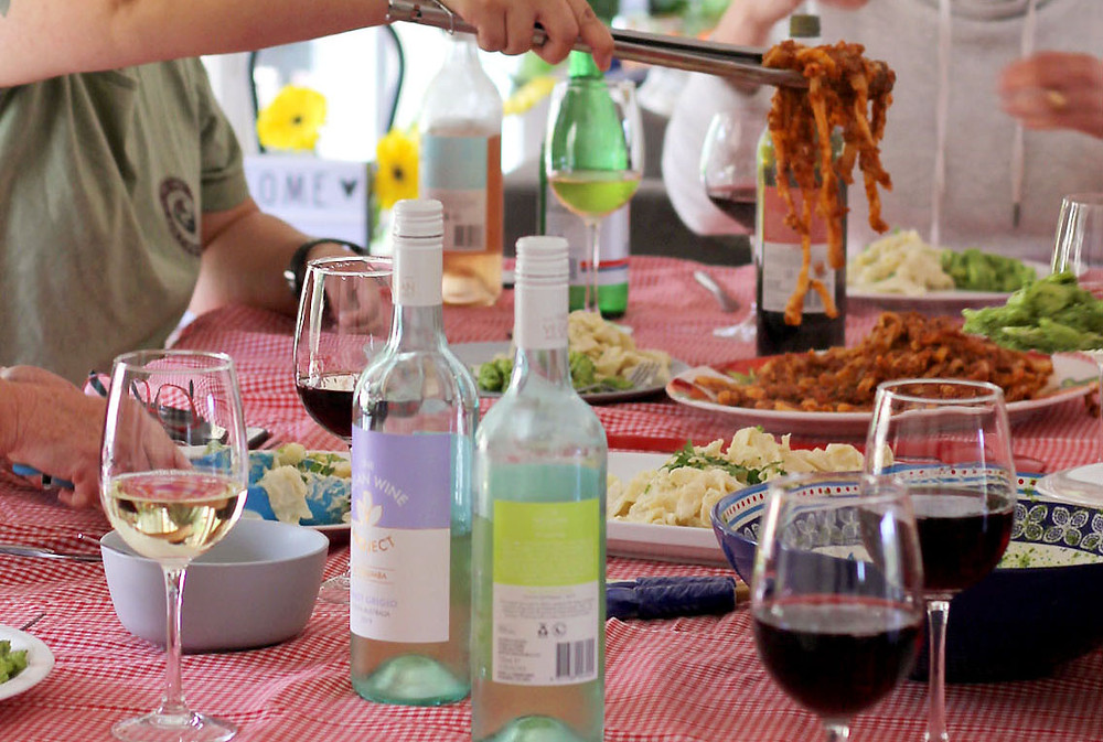 An Italian Feast Paired with the Vegan Wine Project