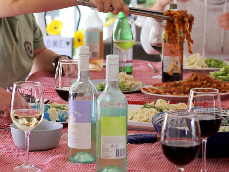 Food and wine matching tips with The Vegan Italian Kitchen