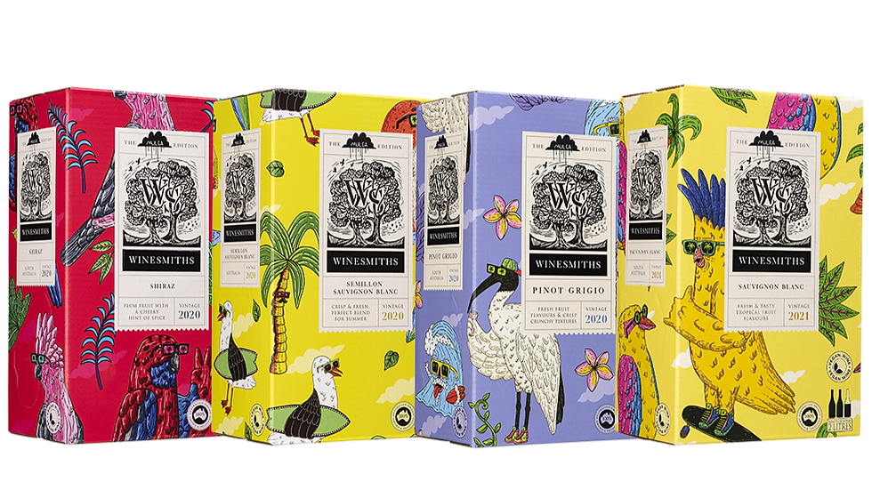 Winesmiths X Mulga Limited Edition 4 Pack