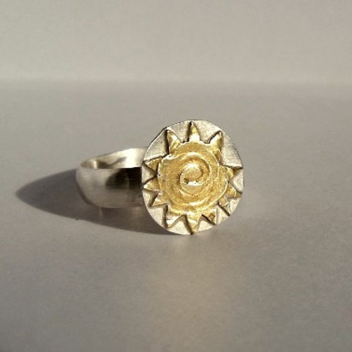 Golden Sun Ring