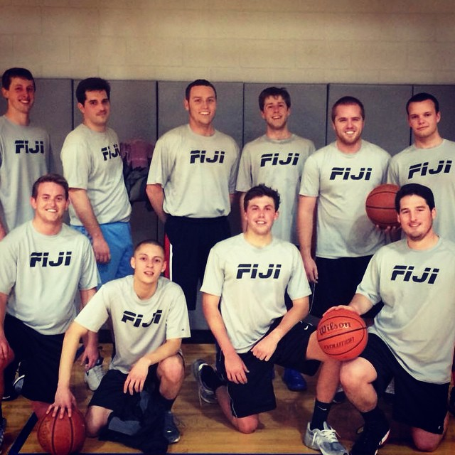 Spring 2014 intramural basketball team #fijiathletics