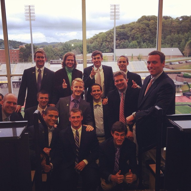 Pref dinner in the chancellors box #betanu
