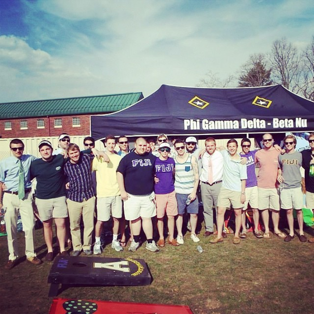 Greek week 2014 #betanu #phigammadelta