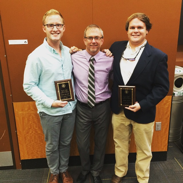 Congrats to brothers _tommynealmattocks and _rhefner11 for receiving CSIL's Leaders of Distinction a