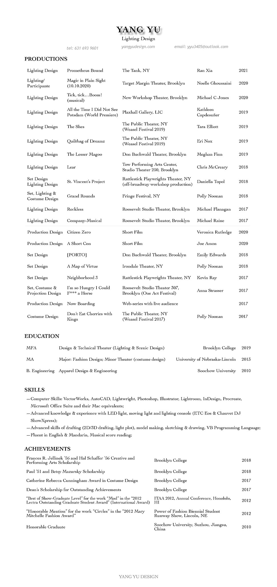 Resume-Yang Yu.jpg