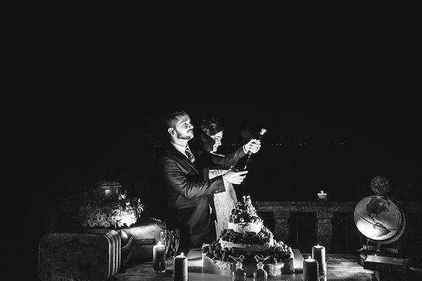 wedding lake maggiore cake