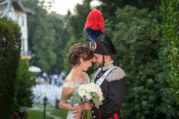 couple wedding lake maggiore