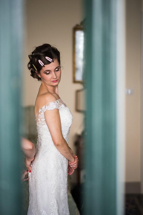 vestizione sposa villa claudia