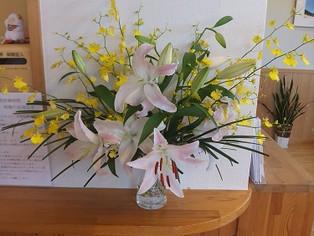 今日の花 オンシジューム、オリエンタルリリー