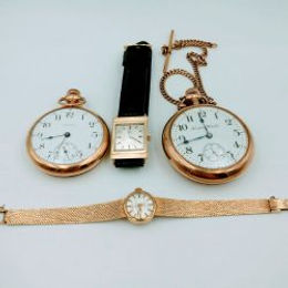 Wristwatches and Pocketwatches