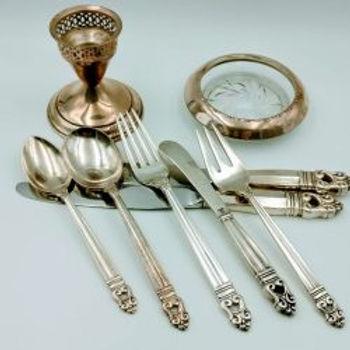 Sterling Silverware and Housewares