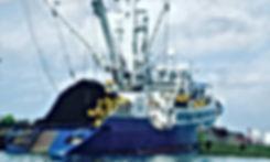 Fishing vessel in Caribbean