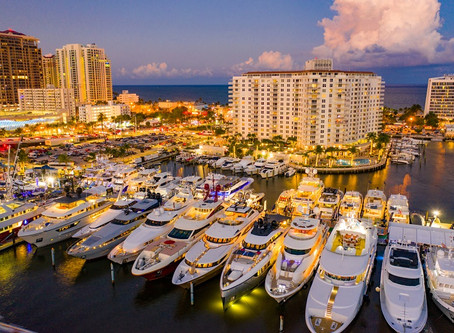 The Superyacht Line-Up for the 2020 Fort Lauderdale International Boat Show