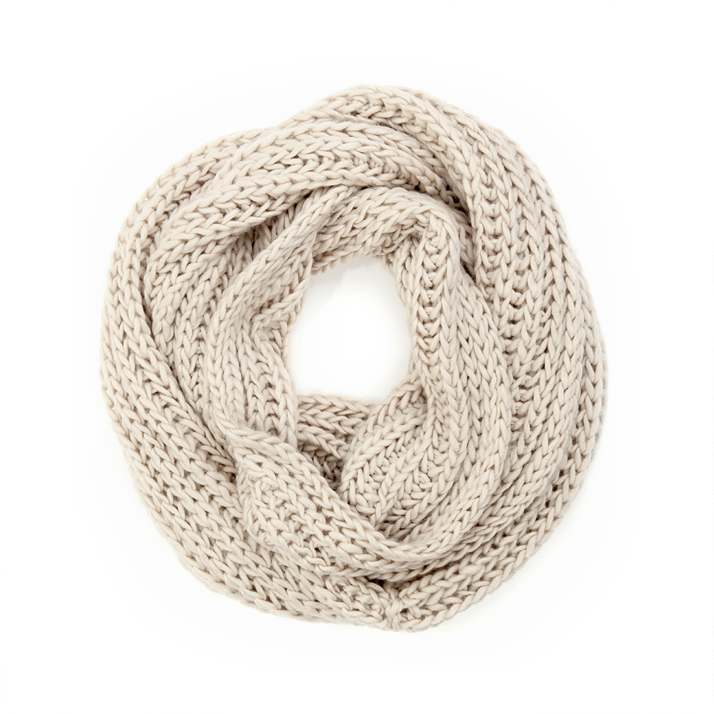 warm cashmere infinity scarf for travel