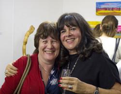 Linda and friend