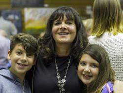 Linda and her grand children