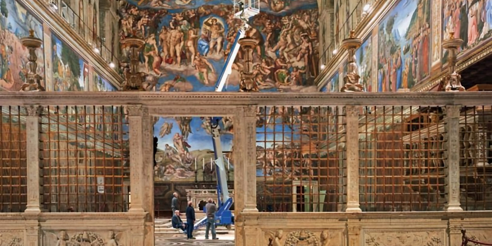 Lecture: Michelangelo's Campaigns in the Sistine Chapel - Creation as Artist